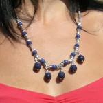 Collier tibétain en lapis lazuli