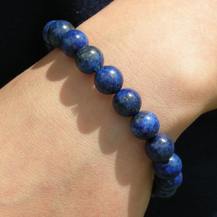 bracelet lapis lazuli bijoux femme en pierres semi pr cieuses jade lapis lazuli amethyste. Black Bedroom Furniture Sets. Home Design Ideas